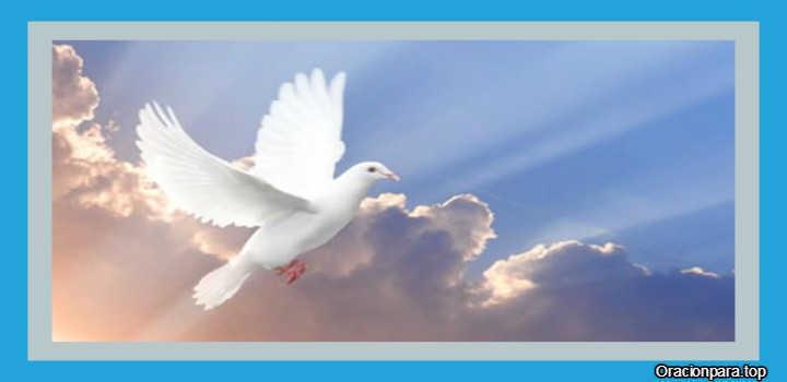 Oracion al Espiritu Santo para la prosperidad