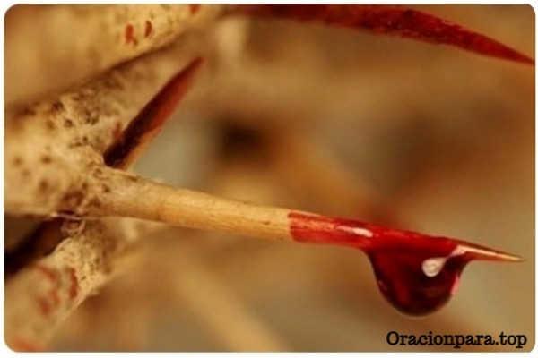 oración baño sangre