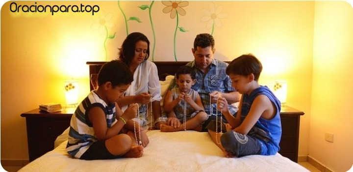 oracion bendecir familia todo mal