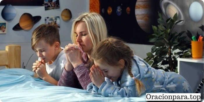 oracion madre hijo desobediente