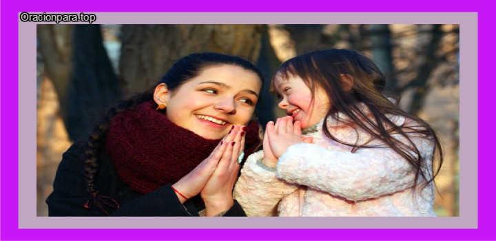 oracion de una madre para hijos