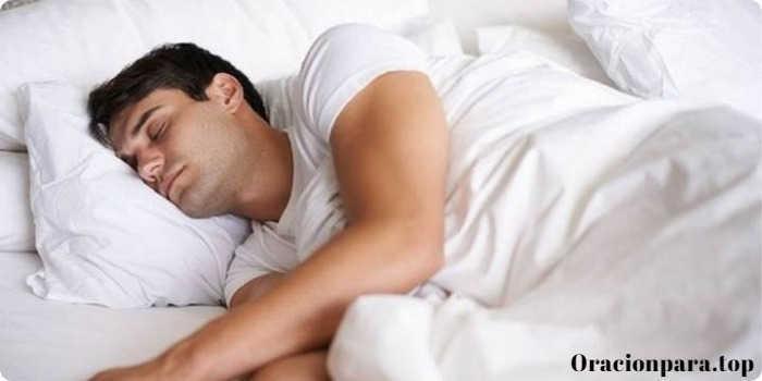 oracion dormir profundo