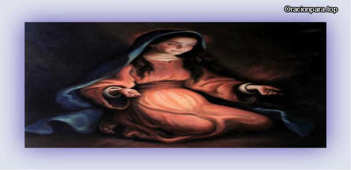 oracion para adviento con Maria