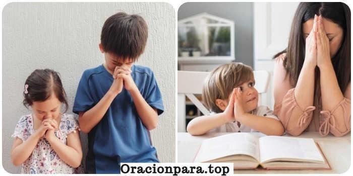 oración para encaminar a los hijos