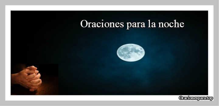 oracion para la noche