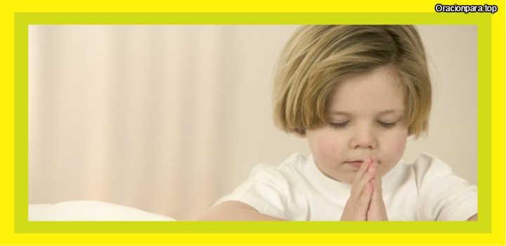 oracion para niños antes de dormir