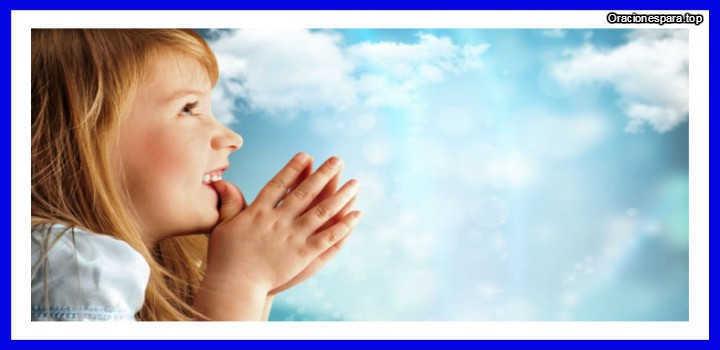 oracion para niños de la mañana
