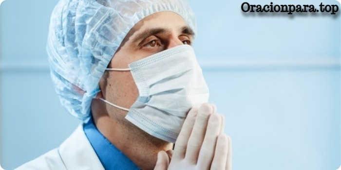 oracion que todo salga bien cirugia