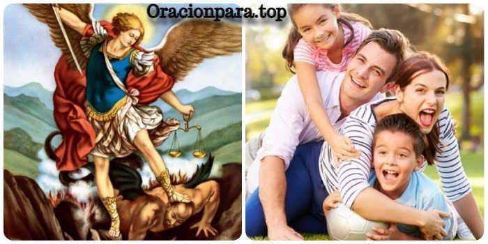 oracion san miguel arcangel proteccion