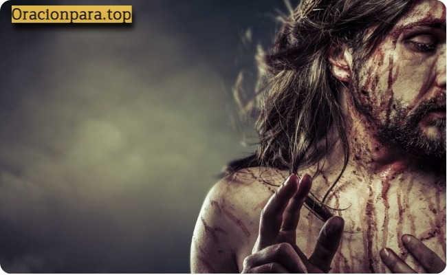 oracion sangre cristo noche