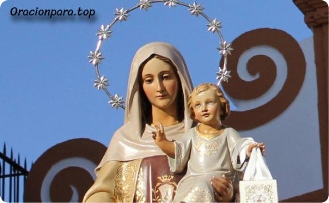 oracion virgen del carmen para un milagro
