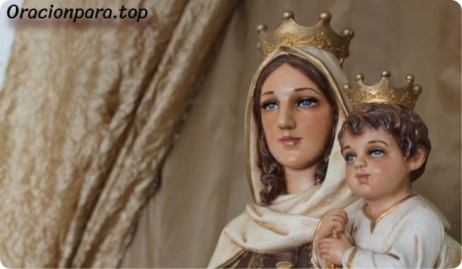 oracion virgen del carmen