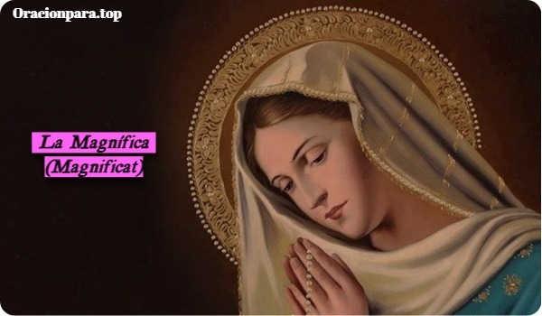 oraciones a la magnifica