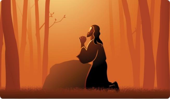 primer misterio doloroso oracion en el huerto