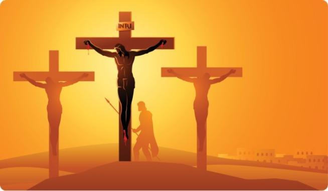 quinto misterio doloroso crucifixion muerte de jesus